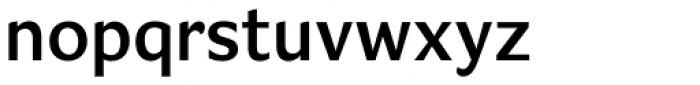 Verse Sans SemiBold Font LOWERCASE