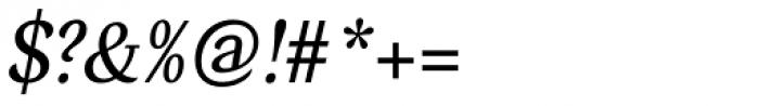 Verse Serif Medium Italic Font OTHER CHARS