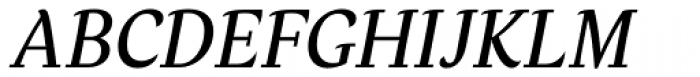 Verse Serif Medium Italic Font UPPERCASE