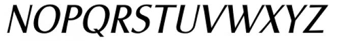 Vershen Oblique Font UPPERCASE