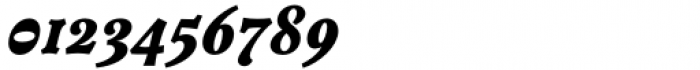 Versina Black Italic Font OTHER CHARS