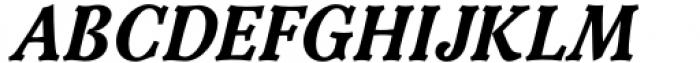 Versina Black Italic Font UPPERCASE