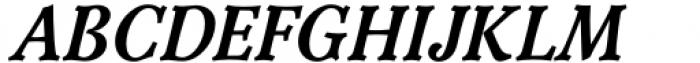 Versina Extra Bold Italic Font UPPERCASE