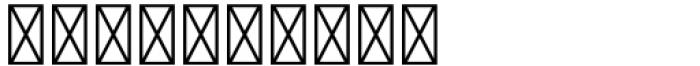 Versina Ornaments Black Font OTHER CHARS