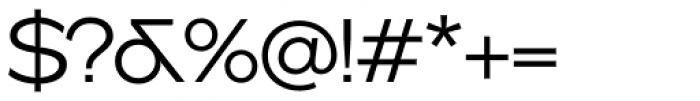 Version 1 International Light Font OTHER CHARS