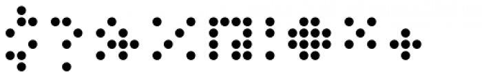 Versteeg Regular Font OTHER CHARS