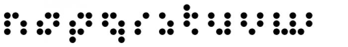 Versteeg Regular Font LOWERCASE