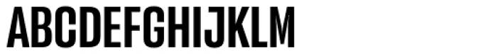 Versus Medium Font UPPERCASE