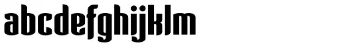 Verve AE Black Font LOWERCASE