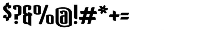 Verve Bold Alt Font OTHER CHARS