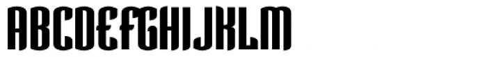 Verve Bold Alt Font UPPERCASE