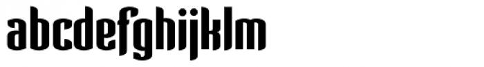 Verve Bold Alt Font LOWERCASE