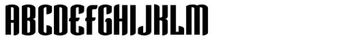 Verve Bold Font UPPERCASE