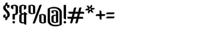 Verve Light Font OTHER CHARS