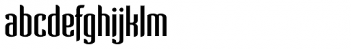 Verve Light Font LOWERCASE