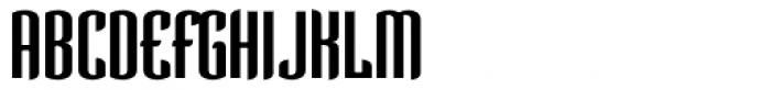 Verve Regular Alt Font UPPERCASE