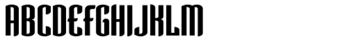 Verve SemiBold Font UPPERCASE