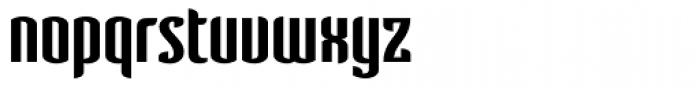 Verve SemiBold Font LOWERCASE