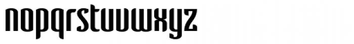 Verve Font LOWERCASE
