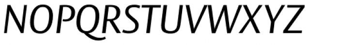 Vesta Pro Italic Font UPPERCASE