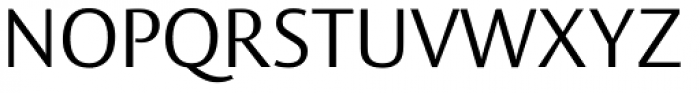 Vesta Pro Light Font UPPERCASE