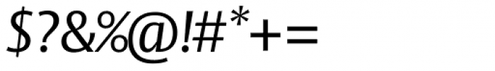 Vesta Std Italic Font OTHER CHARS