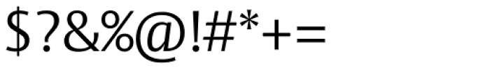 Vesta Std Light Font OTHER CHARS
