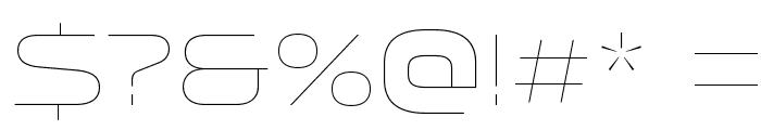 Venera100 Font OTHER CHARS