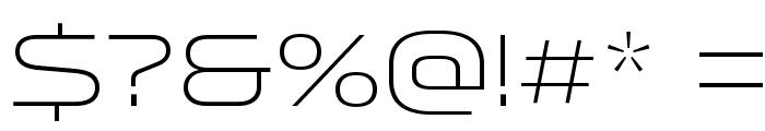 Venera300 Font OTHER CHARS