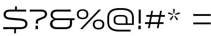 Venera500 Font OTHER CHARS