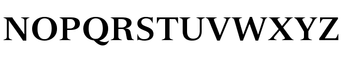 VersaillesLTStd-Bold Font UPPERCASE