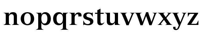 VersaillesLTStd-Bold Font LOWERCASE