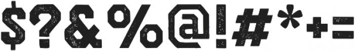 VFC Morty Press otf (400) Font OTHER CHARS