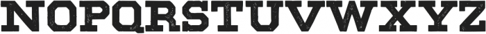 VFC Morty Press otf (400) Font LOWERCASE