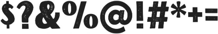 VFC Ogar Press otf (400) Font OTHER CHARS
