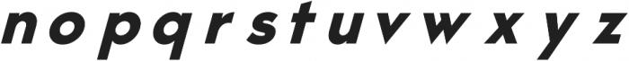 VICTORIA Bold Italic ttf (700) Font LOWERCASE