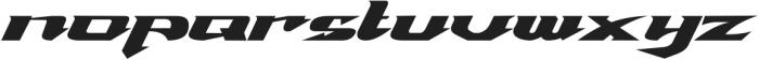 VICTORIANZ ttf (400) Font LOWERCASE