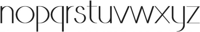 VINA Medium ttf (500) Font LOWERCASE