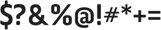 Via Sans Bold otf (700) Font OTHER CHARS