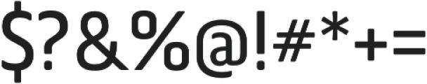 Via Sans Regular otf (400) Font OTHER CHARS