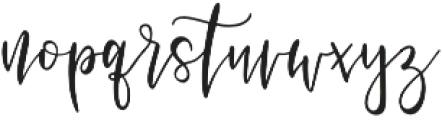 Vianette Script otf (400) Font LOWERCASE
