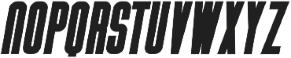 Vibe Bold Italic otf (700) Font UPPERCASE