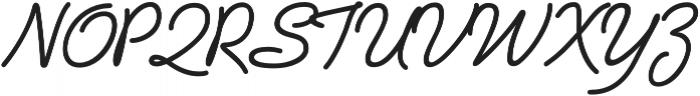 Vibes otf (400) Font UPPERCASE
