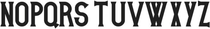 Victoria ttf (700) Font UPPERCASE