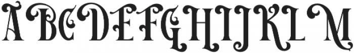 Victorian Decade 3 otf (400) Font UPPERCASE