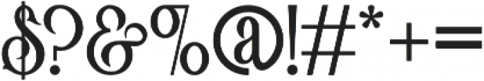 Victorian Parlor Bold otf (700) Font OTHER CHARS