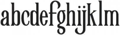 Victorian Parlor Bold otf (700) Font LOWERCASE