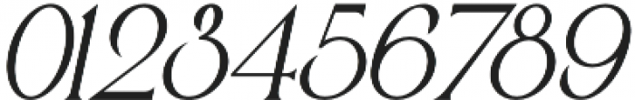 Victorian Parlor Italic otf (400) Font OTHER CHARS