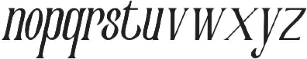 Victorian Parlor Italic otf (400) Font LOWERCASE