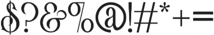 Victorian Parlor King otf (400) Font OTHER CHARS